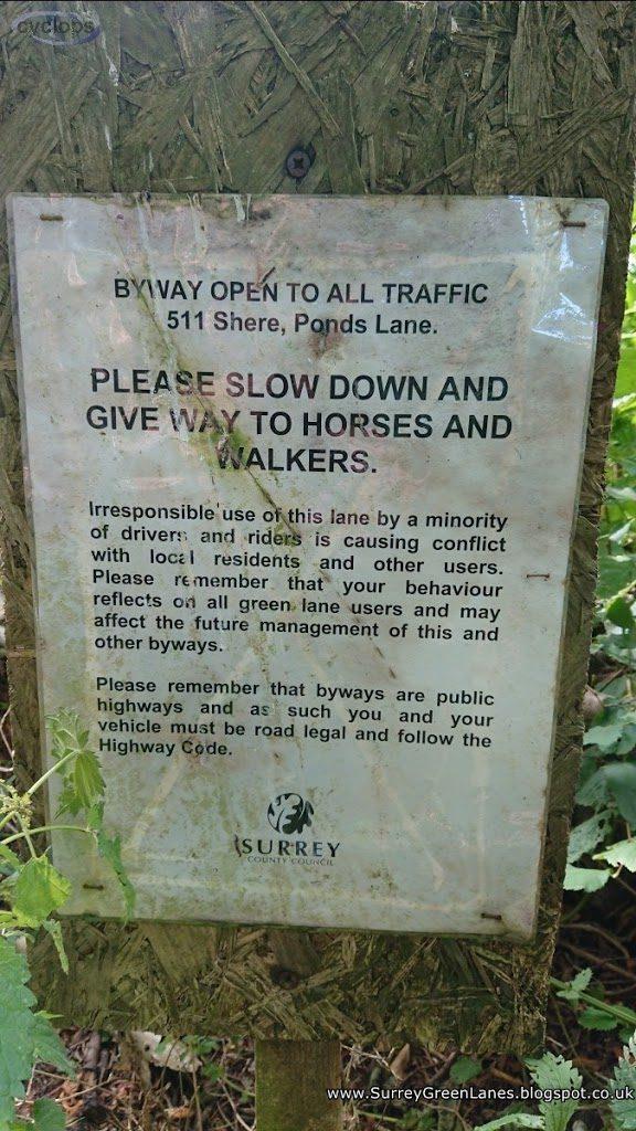 ROW511 Polite Notice