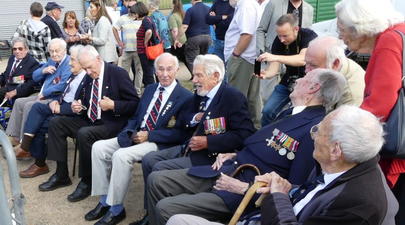 The Bomber Boys at Wings Museum