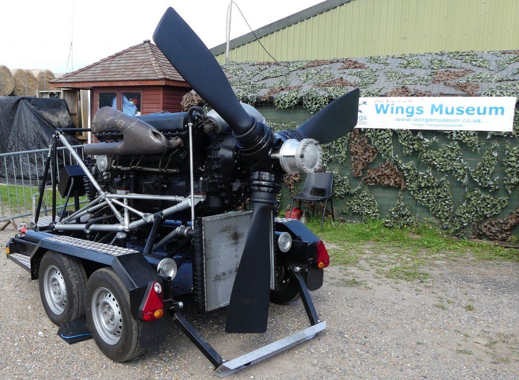 Halifax Merlin Engine
