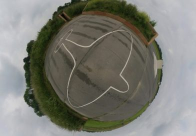 RAF Kenley Tribute and Aircraft Pens