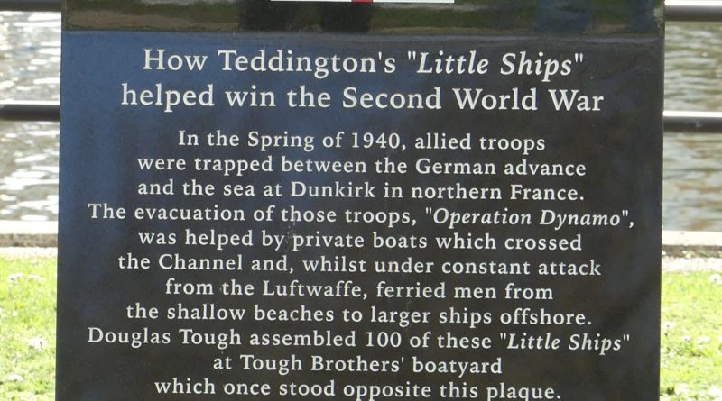 Little Ships of Dunkirk – Teddington Lock Memorials